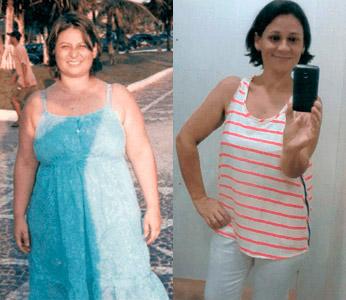 Depoente Nicole foi uma das usuárias de SlimCaps que conquistaram resultado no emagrecimento de  mais de 30kg